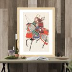 Japanese art prints on canvas or paper