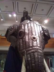 elephant armour at Leeds Royal Armoury