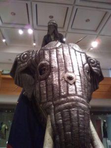 elephant armour at Leeds Royal Armoury
